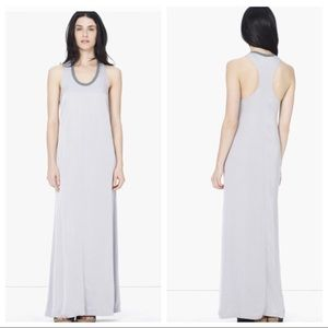 JAMES PERSE Gray ringer maxi dress flowy Sz 0